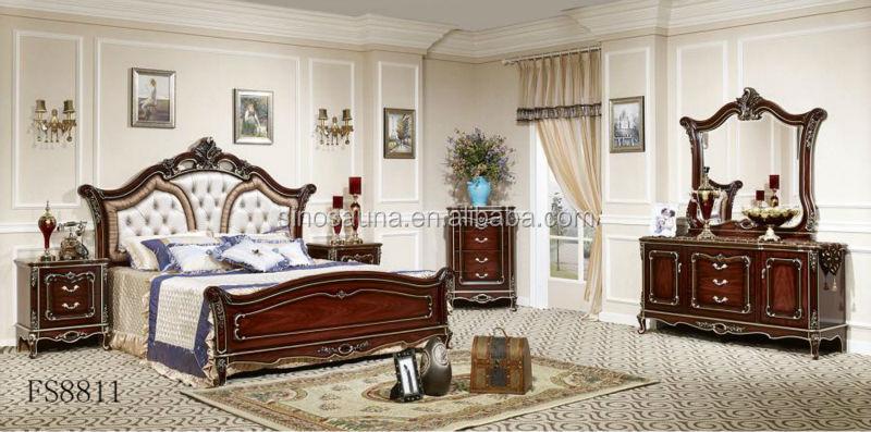 Italiano mobili camera da letto regale, di lusso imbottiti letto a ...