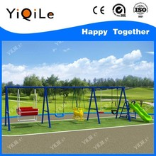 GUANGZHOU YIQILE PLAYGROUND SWING AND SLIDE FOR CHILDREN