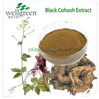 wholesale Black Cohosh root Extract p.e.(Triterpene Glycosides)