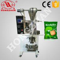 Zhejiang Hongzhan HP100G2 rice snack cereal candy automatic tea bag packing machine price