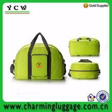 Wholesale foldable fashion tote women's travelling bag
