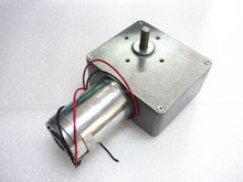 518JSX181-4468 Brand New High Torque, Low Noise, 90 Degree Right Angle 31rpm 12V DC Worm Gear Motor
