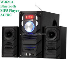 8ohm waterproof speaker driver in audio with USB/SD/FM/2MIC/REMOTE CONTROL/LED DISPLAY