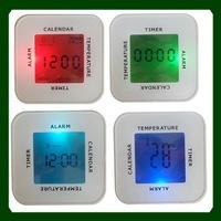 low MOQ digital clock for car