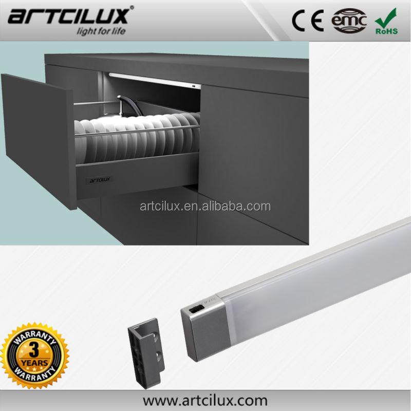 Portable Cabinet Light : Inside cabinet lighting drawer portable led sensor