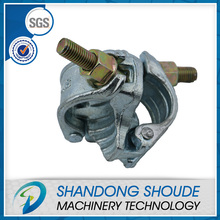 German types of scaffolding drop forged double coupler for construction use