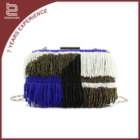 Indian clutch bags with chains ladies beaded clutches and purses
