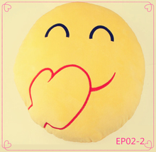 Latest design yellow cute emoji pillow emoji memory foam pillow emoji plush pillow for children