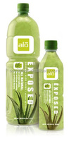 juice aloe vera pure plus in 1.5litre squre bottles