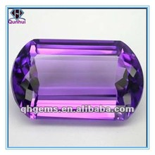 20.55CTS. SHINY CUSHION SHAPE PURPLE COLOR AAA cubic zircon