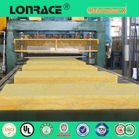 Cheap 50mm thick roof insulation fiber glass wool