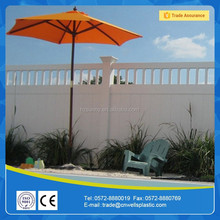 cheap privacy pvc Vinyl Fence Panels, outdoor pvc Vinyl fence