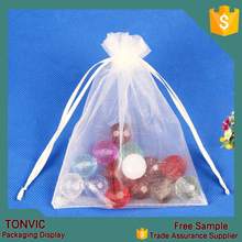Mix Colors Jewelry Packing Pouch Organza Bags Wholesale