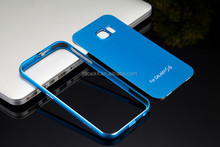 iMatch Metal Bumper Aluminum Back Cover Slim Case for Samsung Galaxy S6 /S6 Edge