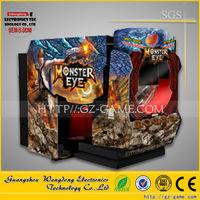 Monster Eye 5D Shooting Gun Simulator Game Machine / Electronic Shooting Machine