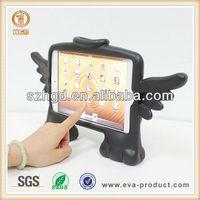 shockproof EVA case Free standing Angel shape for cute ipad mini cover