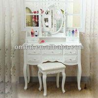 7 drawers girls make up dresser