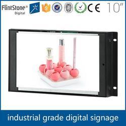 FlintStone 10 inch open frame LCD vending advertisement, digital LCD photo frame, LCD picture frame
