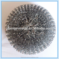 new product galvanized mesh scourers for kitchen cleaning