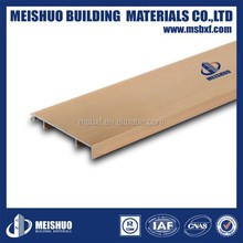 waterproof decorative marble wall baseboard aluminum skirting