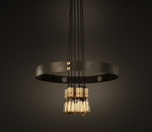 Industrial Vintage Hanging Wire Rounded Iron Pendant Lamp
