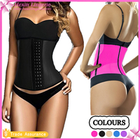 Latex Waist Cincher Women Sport Slimming Body Shaper Corset Waist Trainers