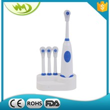 Multi-color mini electrical toothbrush prices with 2-AA batteries