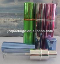 10 ml pas cher rechargeable bouteille de parfum de pulvérisation en aluminium gros de la chine