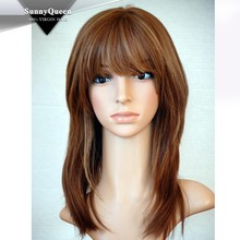 Sunny Queen Hair 2015 Jewish wig kosher wigs, jewish wig european hair jewish wig band fall wigs, human hair jewish wig
