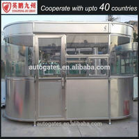 prefab kiosk/sentry box/guard post for sale made in China sentry watch house