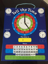 Creative magnetic learning educational time wall chart/Magnettic educational clock for kids/Magnetic clock for learning time