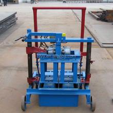 QMR2-45 Manual Compressed Earth Block Machine Small Manual Cement Interlock Brick Machine/ Manual Fly Ash Brick Making Machine