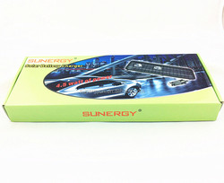 Hot solar charger for car battery and mobile phone charger 4.5W