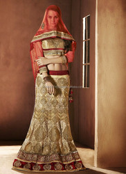 Indian Bridal lehenga Heavy designer Bridal lehenga saree Bridal lehenga for sale R5295