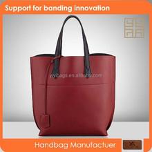 2015 super soft ladies designer fashion red suede handbags J089
