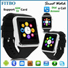 Android Wear FM small watch mobile phone For Iphone 5S 6 + Samsung Galaxy S5 S6