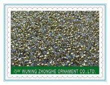 Machine cut glass quality nano crystal glass stone