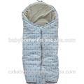 de impresión de algodón al por mayor bolsa de dormir para bebés