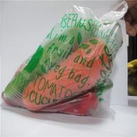 printed plastic bag/transparent bag/shopper bag