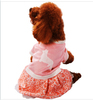 Small dog pet clothing/ Dog dress T-shirts clothes