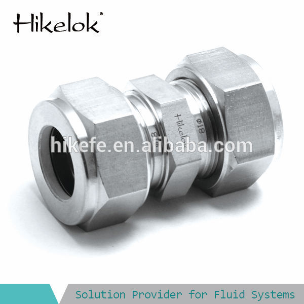Quot compression fitting inch union straight