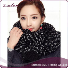 Fashion Women Knitted Thick Infinity Scarf