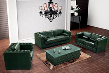 leather chesterfield sofa classic design, country style furniture sofas 901#