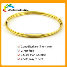HR factory 14GA for anodized craft aluminum wire
