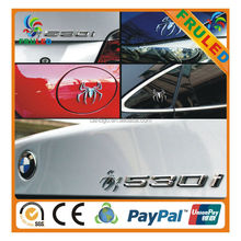 car led stickers custom Electro Plating Car emblem 3d car logo