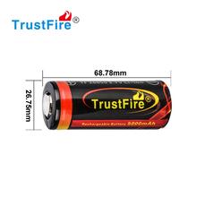wholesale !Trustfire 26650 Battery 3.7V 5000mAh battery IMR 26650 Battery