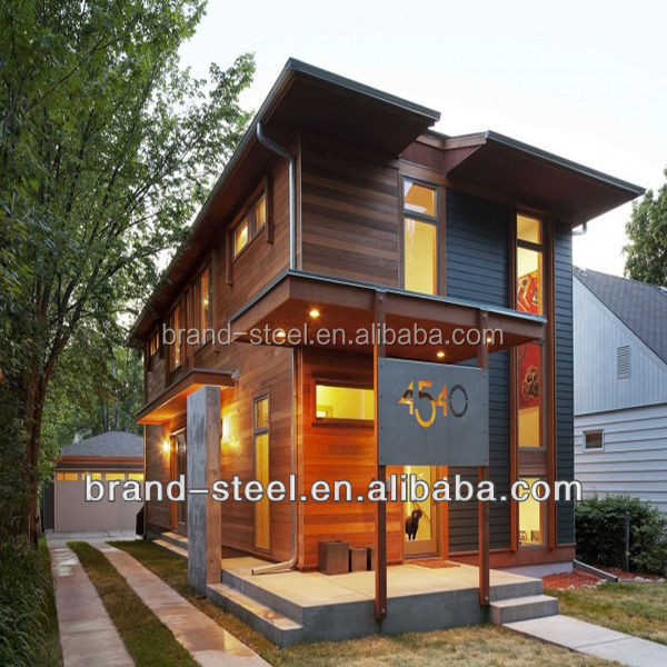 Green pre fabricated steel luxury kit homes buy luxury for Fabricated home