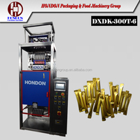 DXD-320T Automatic Round Ends Stick Packaging Machine Multi-lane, safe ends stick, instant coffee, sweetener, milk powder, PLC