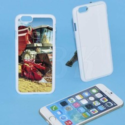 2d Blank Sublimation Phone Case for iPhone 6 plus Heat Transfer Press with high quality