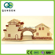 Wholesale hot selling educational toys 3d wooden puzzle solutions